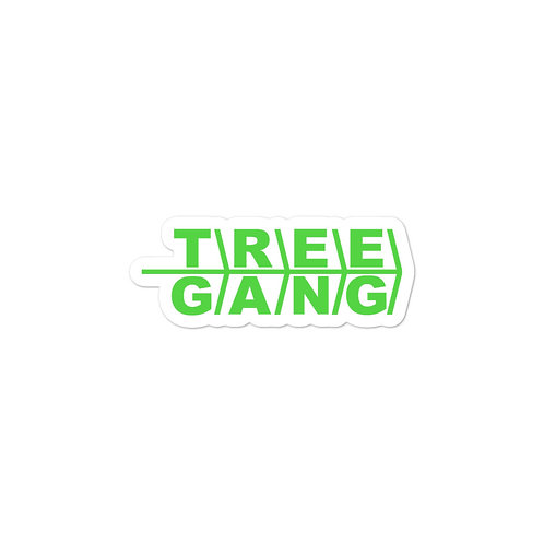 Bubble-free stickers - Tree Gang