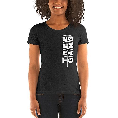 Ladies' short sleeve t-shirt - Tree Gang