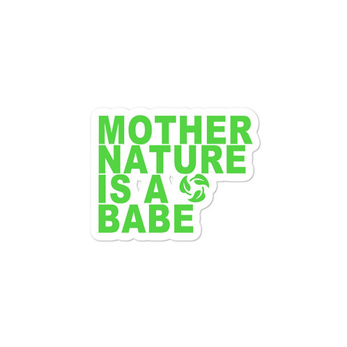 Bubble-free stickers - Mother Nature