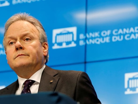 Bank of Canada holds rate steady at 0.25% and hints it has no plans to go any lower