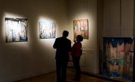 Exposition à la mairie de Malakoff...vernissage