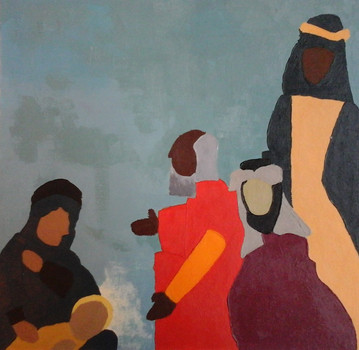 Vers les peintures