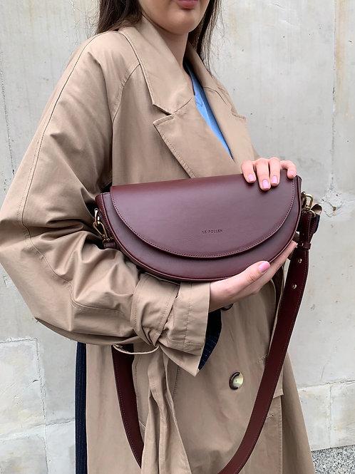 Burgundy Crossbody Luna Bag