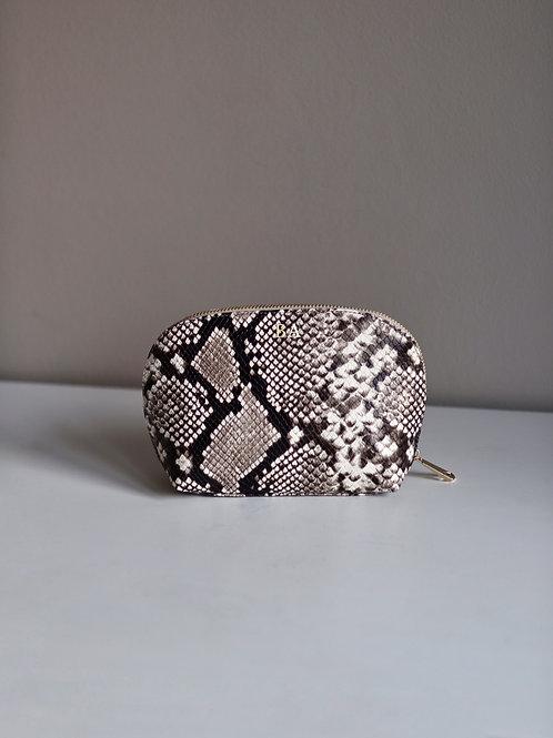 Kosmetyczka Medium Python Grain