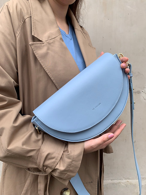 Baby Blue Crossbody Luna Bag