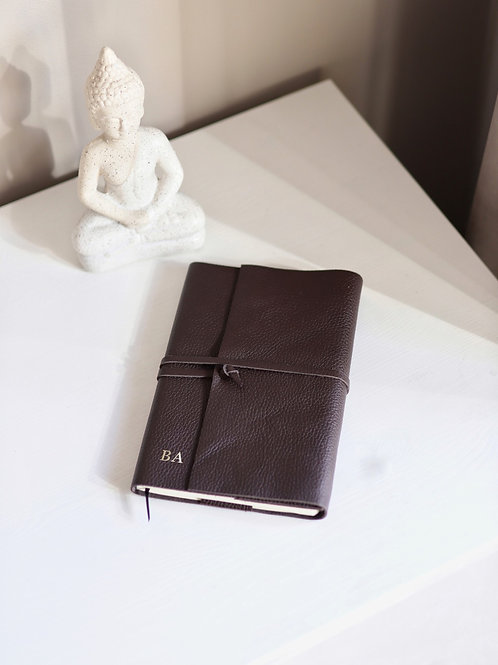 Notes A5 Brown