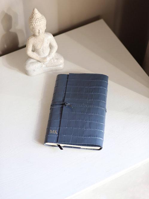 Notes A5 Blue Croco