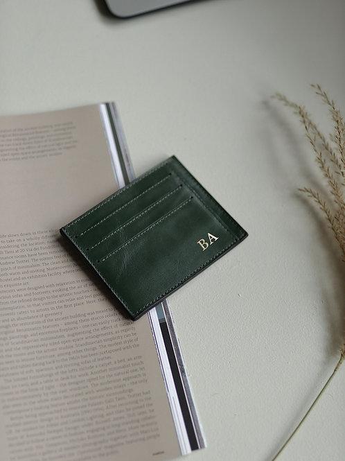 Smooth  Greenie Cardholder