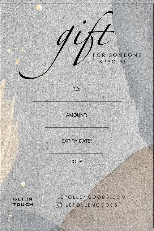 Gift Certificate wersja elektroniczna