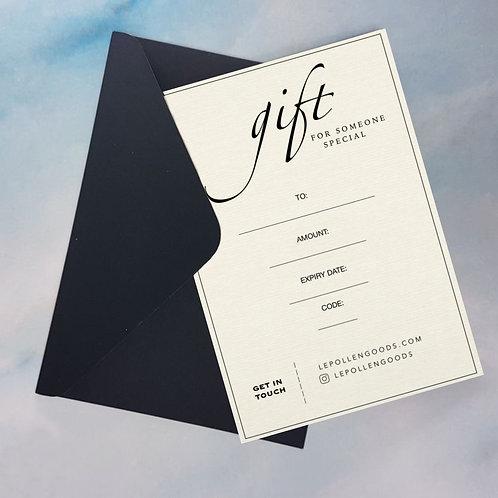 Gift Certificate wersja drukowana