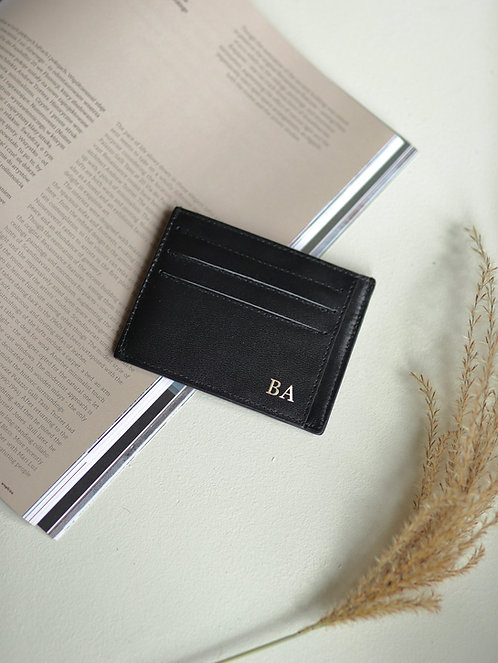 Smooth Black Cardholder
