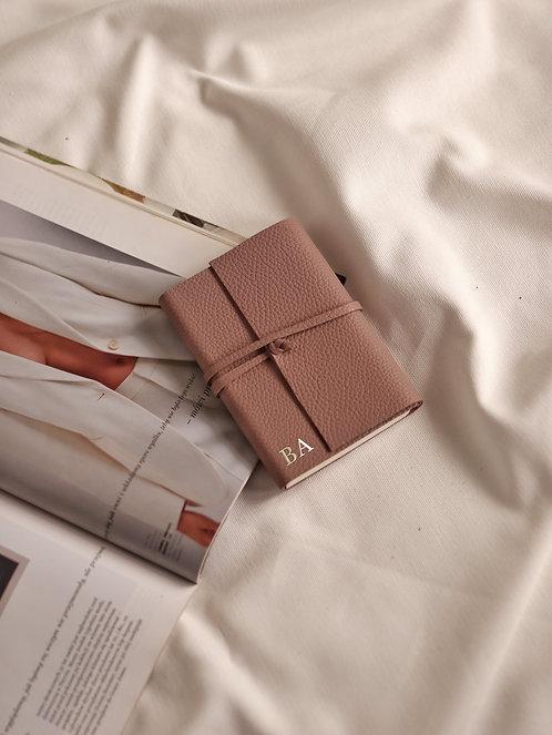 Mauve Wrapped Diary