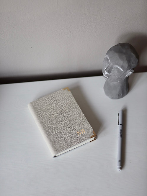 Notes Kieszonkowy IVORY Puste kartki