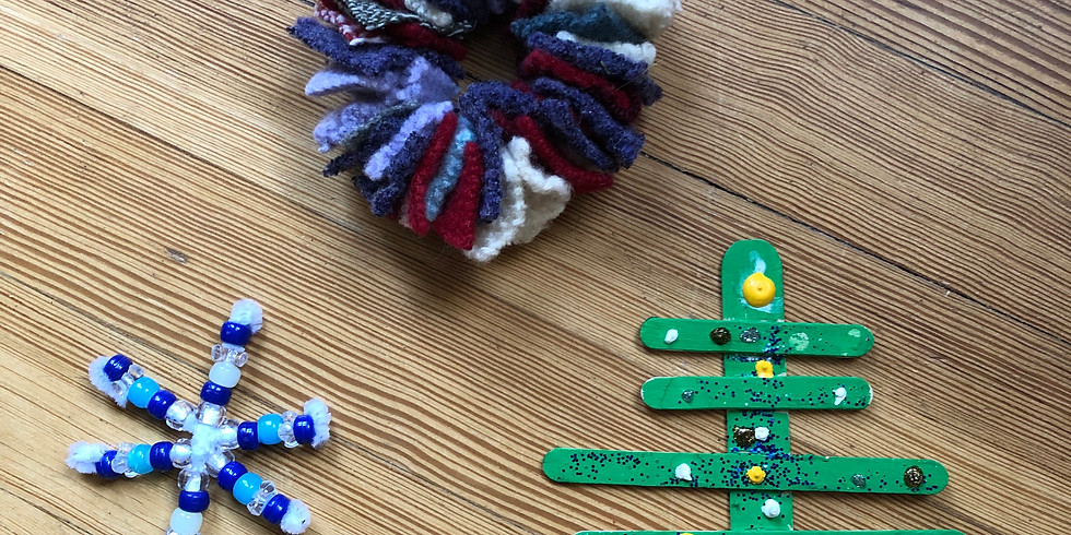 Kids Holiday Crafts!! (taught by kids!!)