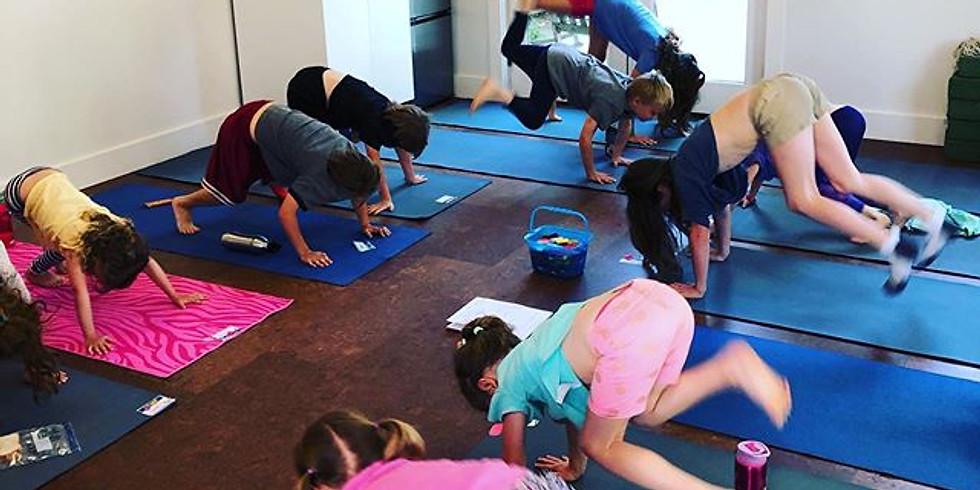 Kids Yoga Camp (K-2)