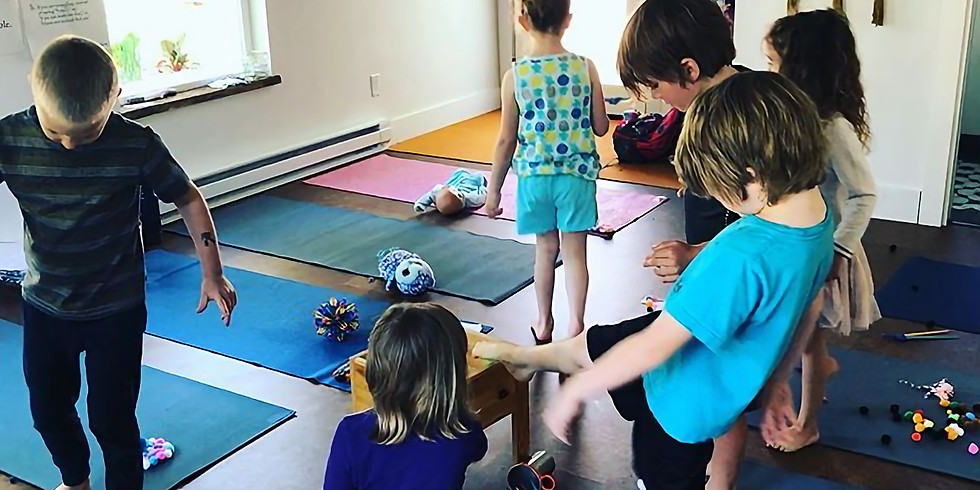 Yoga Mini Camp (for 5-11 year olds)