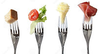 food-forks-bread-vegetable-cheese-mea-23