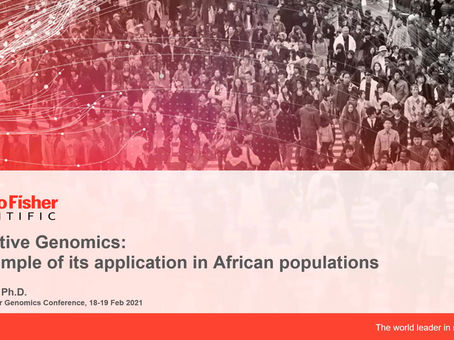 Thermo Fisher Scientific- Predictive Genomics: an example of its application in African populations""