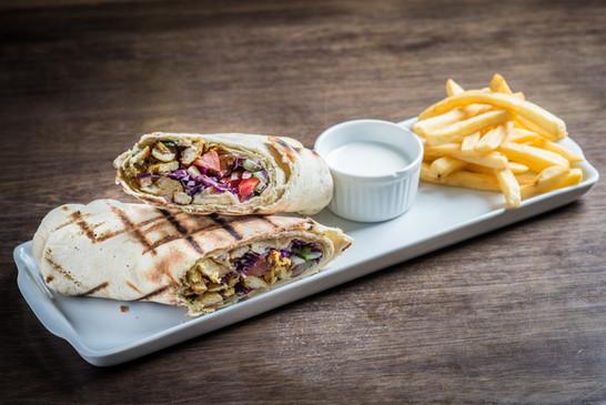 shawarma, arabe, comida arabe