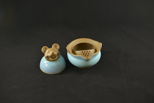 Jun Porcelain Teapot from Song Dynasty Royal Kiln -Year of Rat