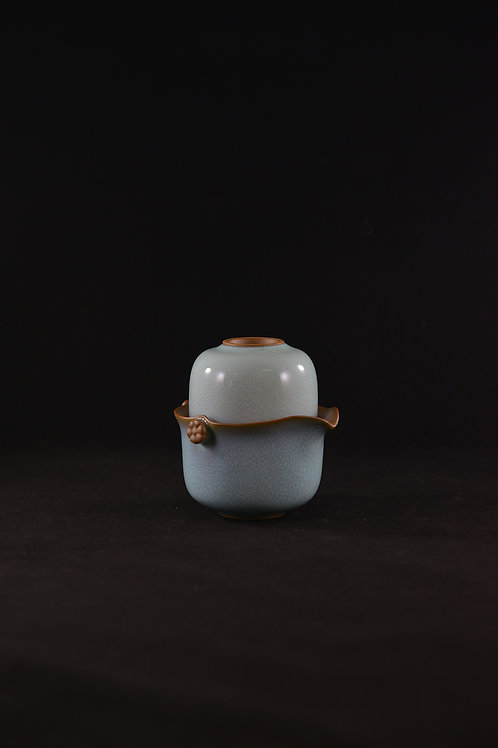 "Jun Porcelain Teapot from Song Dynasty Royal Kiln -""Teapot for Pouring"""