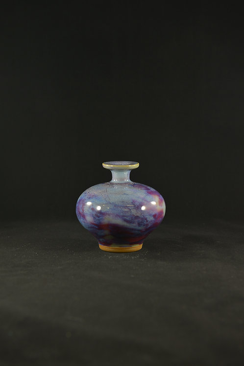 "Jun Porcelain Vase from Song Dynasty Royal Kiln -""Little Reunion"""
