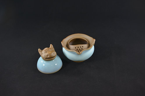 Jun Porcelain Teapot from Song Dynasty Royal Kiln -Year of Ox