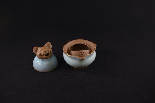 Jun Porcelain Teapot from Song Dynasty Royal Kiln -Year of Pig