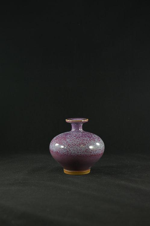"Jun Porcelain Vase from Song Dynasty Royal Kiln ""Little Reunion"""