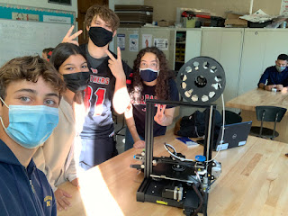 Building 3D Printers - Max, Logan, Micaela, and Sophia