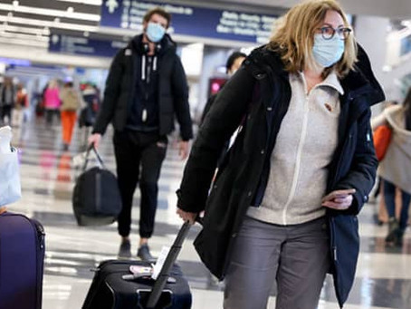 U.S. air travel falls to 6-month low as Covid infections, travel restrictions hinder recovery