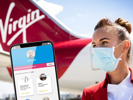 Virgin Atlantic and Eva Air announce health passport tests
