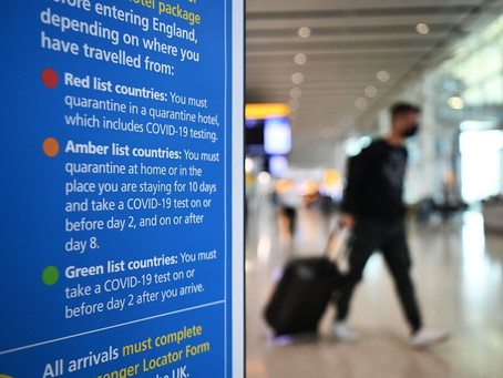 England opens up a narrow quarantine exemption for business travelers.