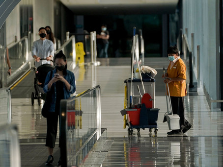Singapore announces new restrictions after vaccinated airport workers become infected