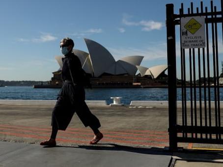 Australian government halves arrival cap, leaving thousands stranded as air fares skyrocket