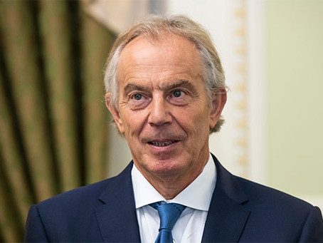 Tony Blair urges creation of global vaccine passport scheme
