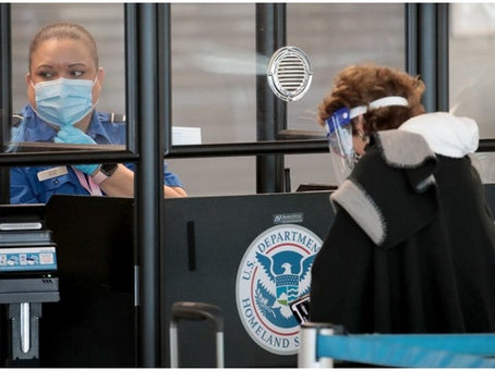 House passes bill to require TSA plan on improving airport security screenings during pandemic