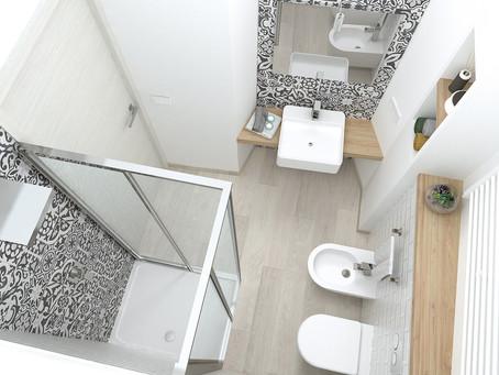 Come ristrutturare un bagno di piccole  dimensioni