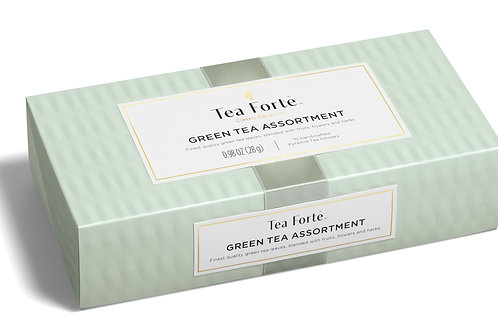 Tea Forte Petite Green Tea Assortment