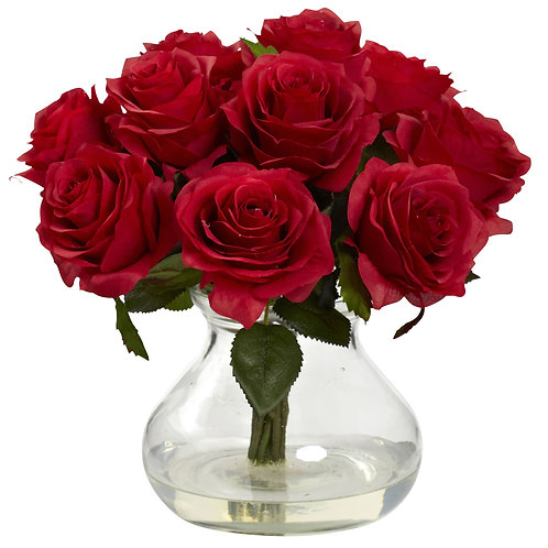 Rose Arrangement w/ Vase