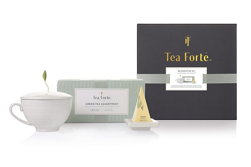 Tea Forte Rejuvenation Gift Set