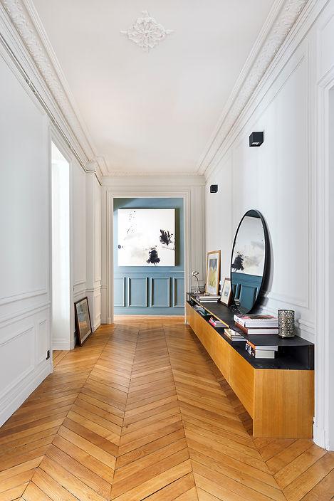 REVERS Atelier d'architecture I Rénovation appartement haussmannien I Paris I Suffren I photos Thibault Pousset I 02