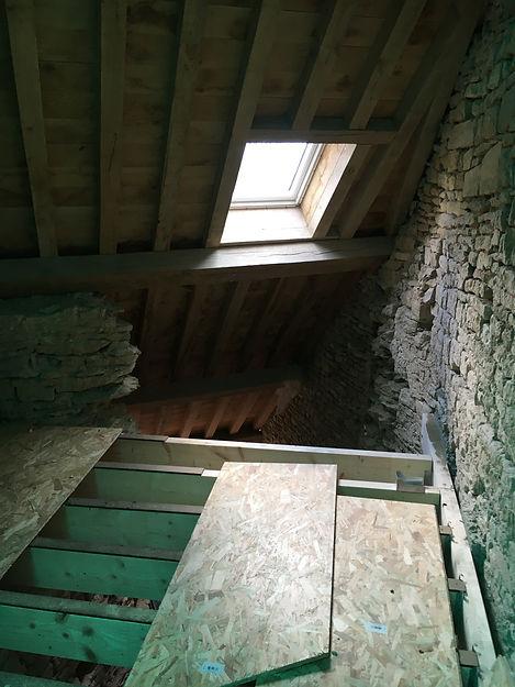 REVERS Atelier d'architecture I Rénovation et restructuration d'une maison de ville / 2 caves, 1 boutique, 2 logements I Vezelay I photos REVERS 08