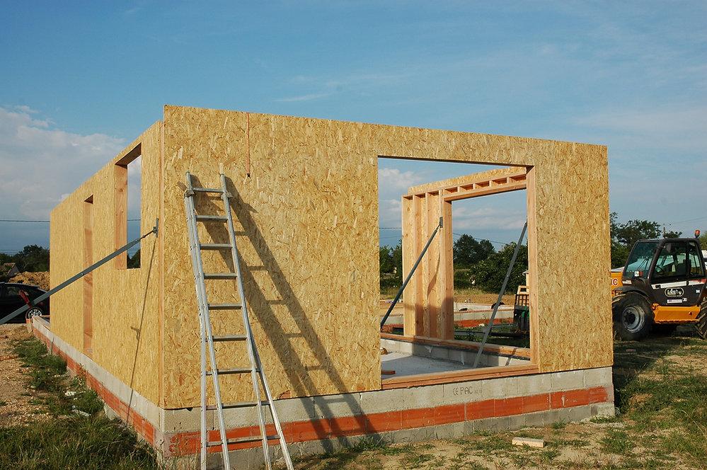 REVERS Atelier d'architecture I Création d'une maison écologique en ossature bois I Fronton I photos REVERS 01