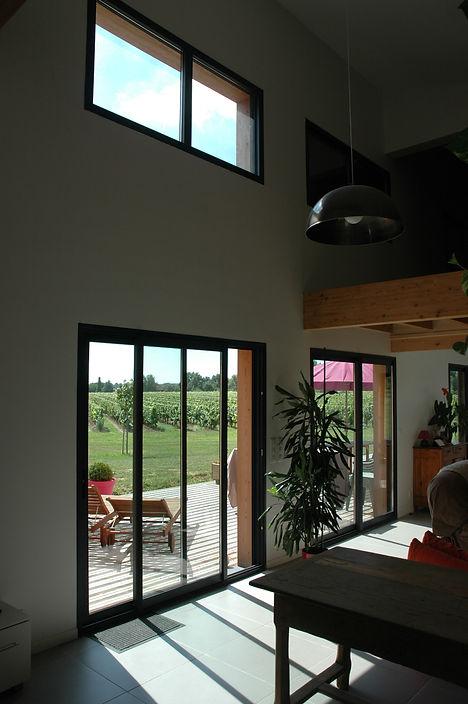 REVERS Atelier d'architecture I Création d'une maison écologique en ossature bois I Fronton I photos REVERS 05