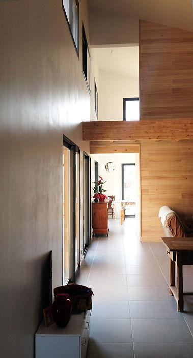 REVERS Atelier d'architecture I Création d'une maison écologique en ossature bois I Fronton I photos REVERS 02