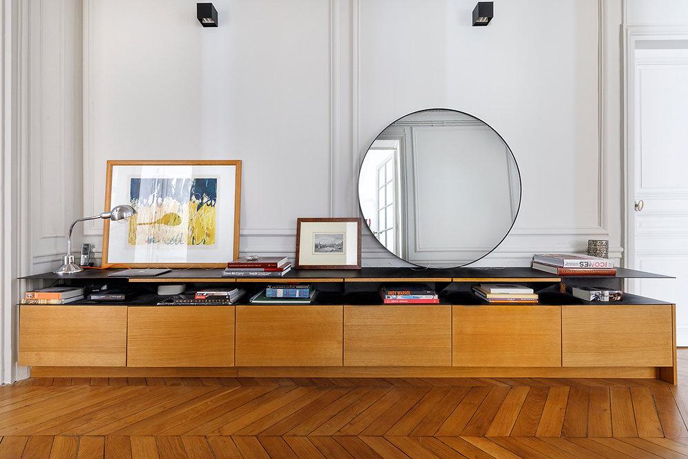 REVERS Atelier d'architecture I Rénovation appartement haussmannien I Paris I Suffren I photos Thibault Pousset I 01