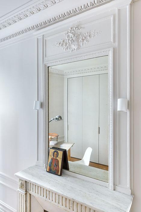 REVERS Atelier d'architecture I Rénovation appartement haussmannien I Paris I Suffren I photos Thibault Pousset I 05