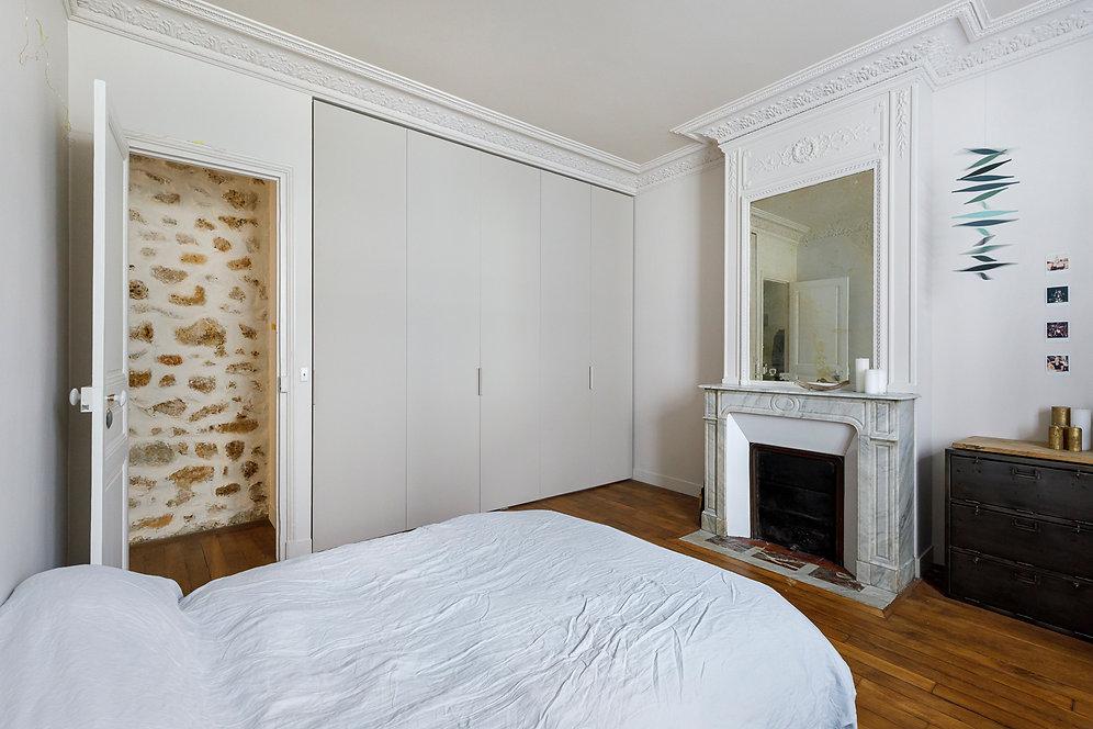 REVERS Atelier d'architecture I Rénovation appartement haussmannien I Paris I Suffren I photos Thibault Pousset I 13