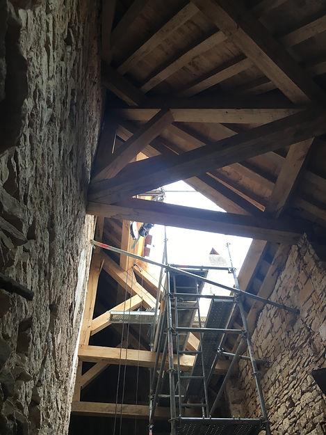 REVERS Atelier d'architecture I Rénovation et restructuration d'une maison de ville / 2 caves, 1 boutique, 2 logements I Vezelay I photos REVERS 13